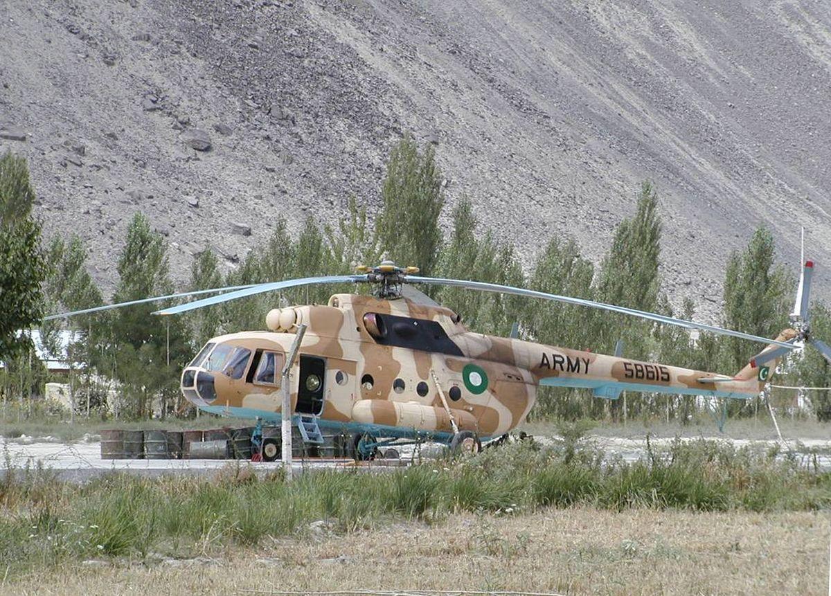 Pakistan Army Helicopter Crash Kills 26