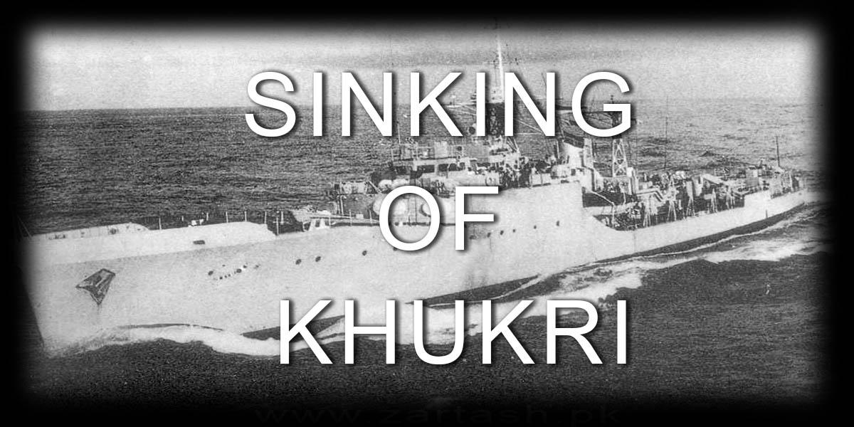 SINKING OF KHUKRI