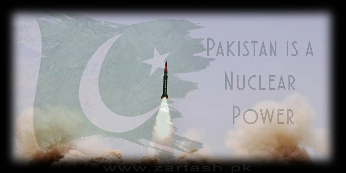 Pakistan is a Nuclear Power