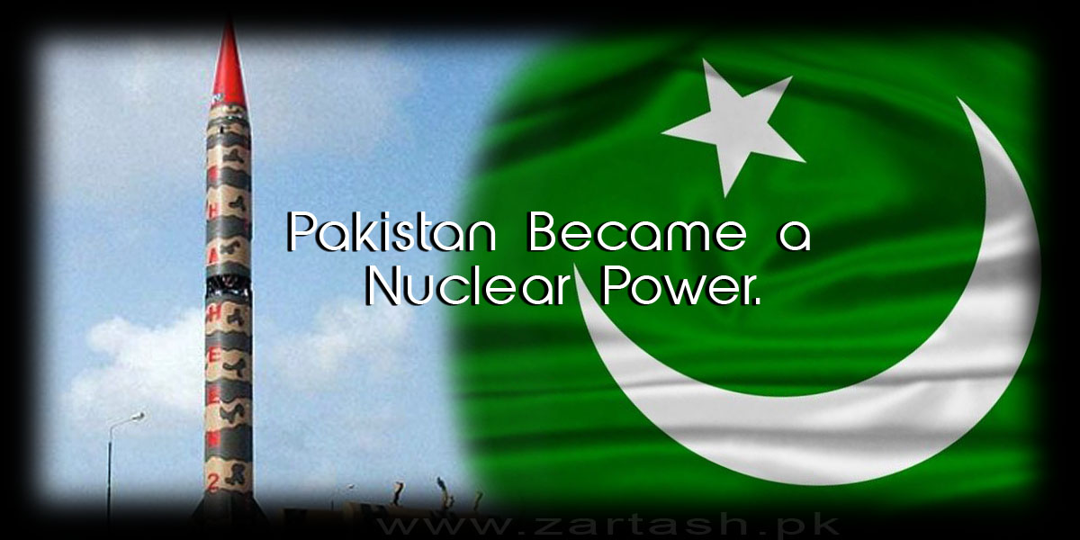 pakistan become a nuclear power