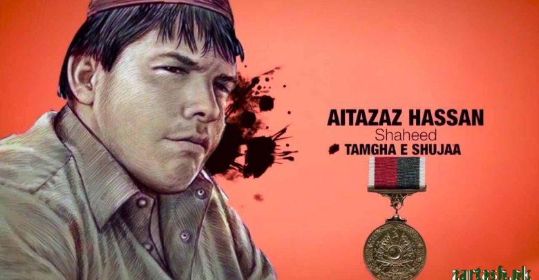 Photo of Aitzaz Hasan — A Teenage Hero of Pakistan