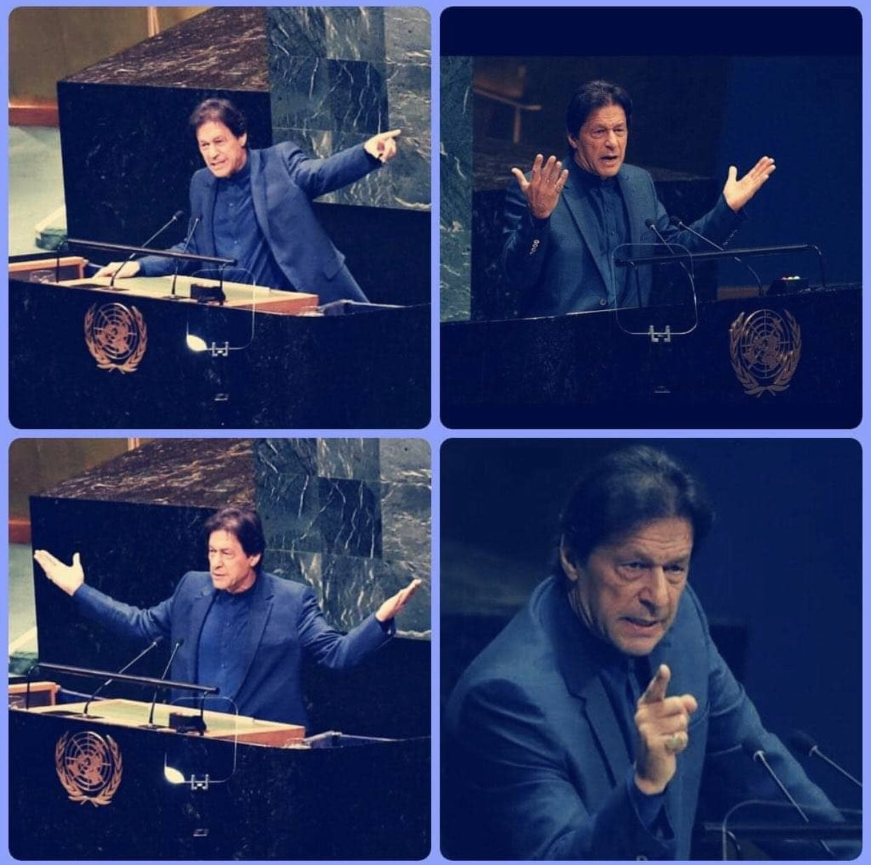 Speech on Kashmir by Imran Khan