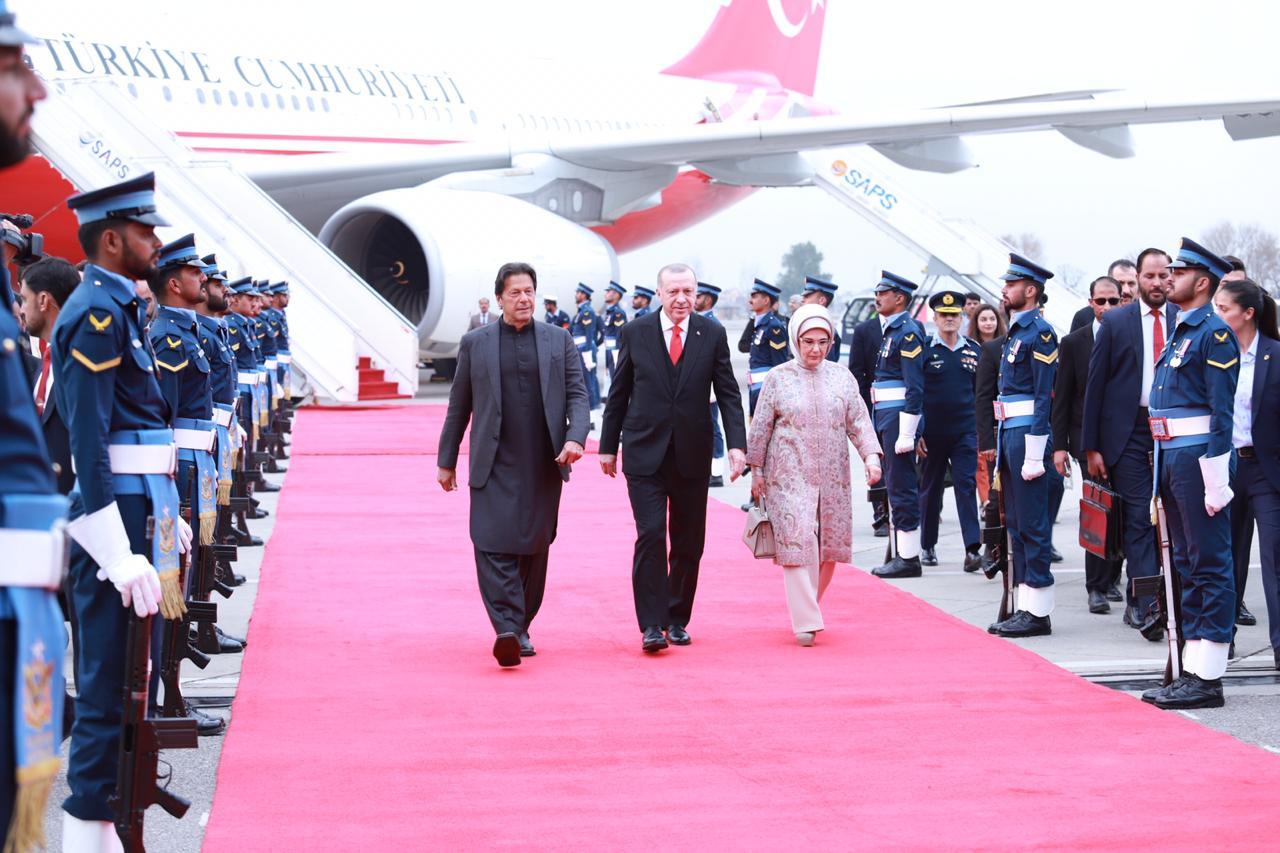 Tayyip Erdogan Historical Visit to Pakistan