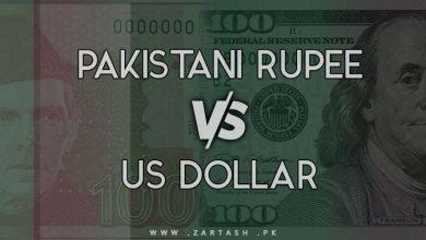 Photo of Pakistani Rupee Versus US Dollar