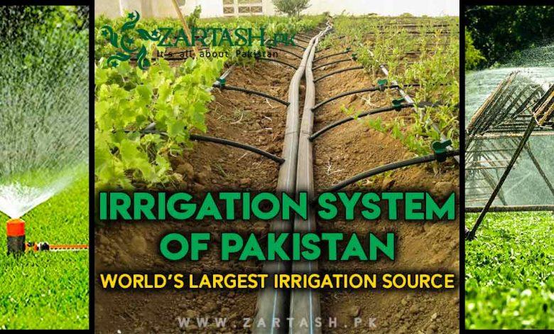 Photo of Irrigation system of Pakistan   World's largest irrigation source