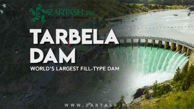 Photo of Tarbela Dam in Pakistan | World's Largest Fill-Type Dam