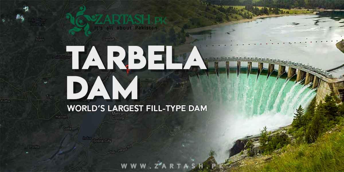 Tarbela Dam in Pakistan | World's Largest Fill-Type Dam