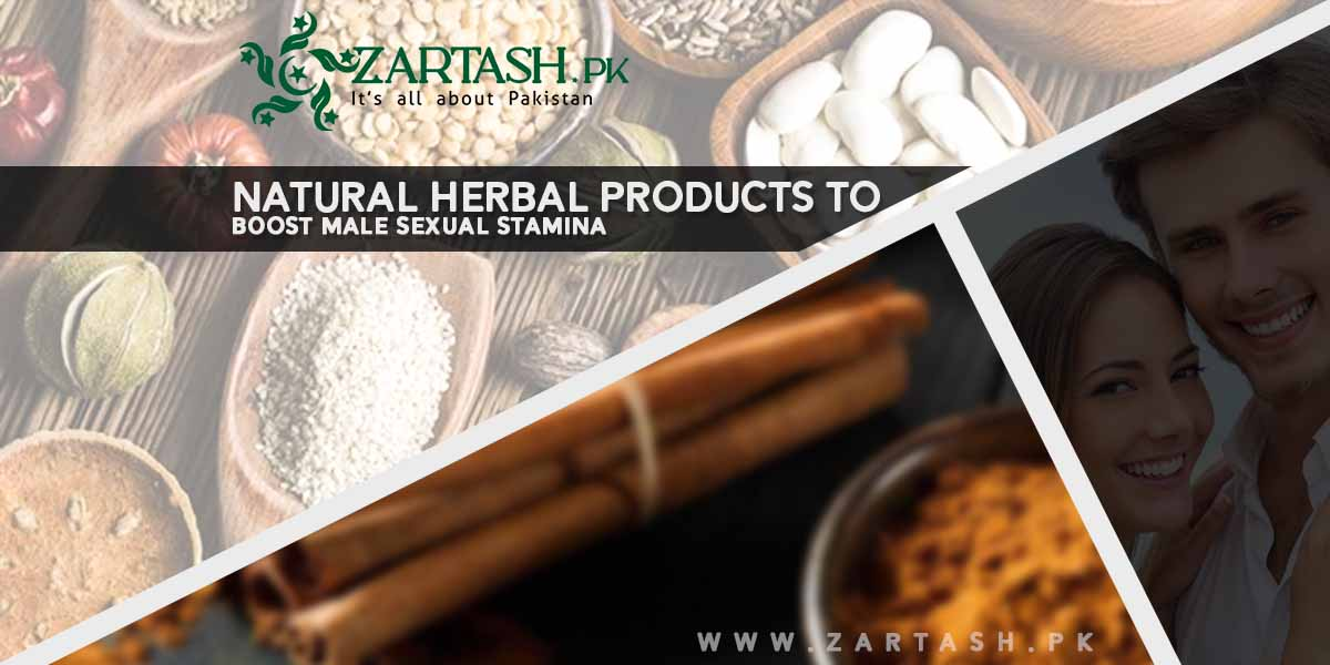Natural Herbal Products to Boost Male Sexual Stamina