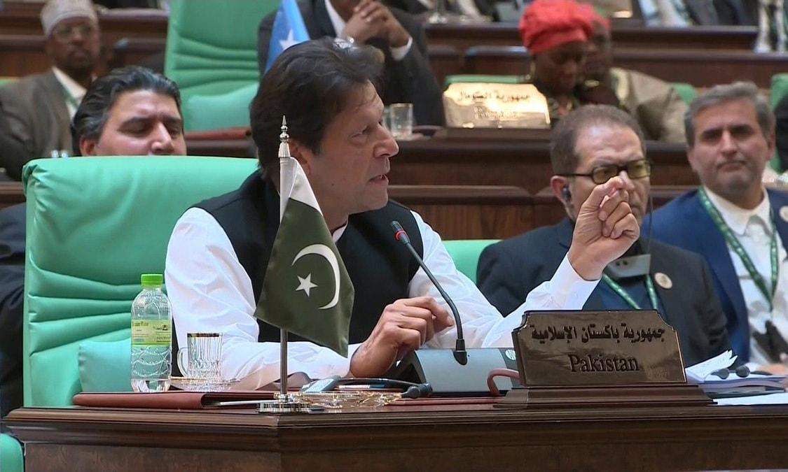 PM Imran Khan has addressed at international platforms