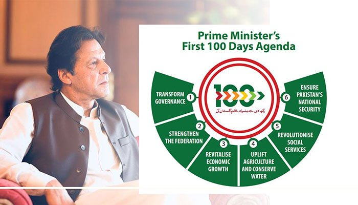 Prime Ministor's First 100 days agenda
